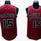 John Salmons #15 Red Chicago Bulls Men's Jersey