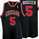 Carlos Boozer #5 Black Chicago Bulls Men's Jersey