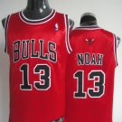 Joakim Noah #13 Red Chicago Bulls Men's Jersey