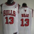 Joakim Noah #13 White Chicago Bulls Men's Jersey
