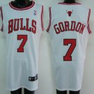 Ben Gordon #7 White Chicago Bulls Men's Jersey