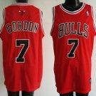 Ben Gordon #7 Red Chicago Bulls Men's Jersey