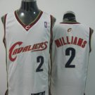 Mo Williams #2 White Cleveland Cavaliers Men's Jersey