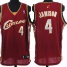 Antawn Jamison #4 Red Cleveland Cavaliers Men's Jersey