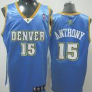 Carmelo Anthony #15 Blue Denver Nuggets Men's Jersey