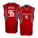 Ron Artest #96 Red Houston Rockets Men's Jersey
