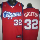 Blake Griffin #32 Red Los Angeles Clippers Men's Jersey