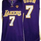 Lamar Odom #7 Purple Los Angeles Lakers Men's Jersey