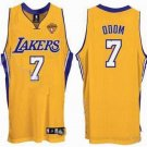 Lamar Odom #7 Yellow Los Angeles Lakers Men's Jersey