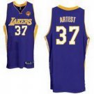 Ron Artest #37 Purple Los Angeles Lakers Men's Jersey