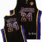 Kobe Bryant #24 Black Los Angeles Lakers Men's Jersey