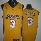Trevor Ariza #3 Yellow Los Angeles Lakers Men's Jersey