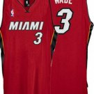 Dwayne Wade #3 Red Miami Heat Men's Jersey