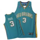 Chris Paul #3 Green New Orleans Hornets Men's Jersey