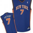 Carmelo Anthony #7 Blue New York Knicks Men's Jersey