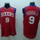 Andre Iguodala #9 Red Philadelphia 76ers Men's Jersey