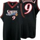 Andre Iguodala #9 Black Philadelphia 76ers Men's Jersey