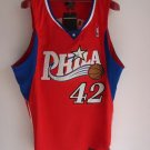 Elton Brand #42 Red Alternative Philadelphia 76ers Men's Jersey