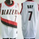 Brandon Roy #7 White Portland Trailblazers Men's Jersey