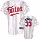 Justin Morneau #33 White Minnesota Twins Kid's Jersey