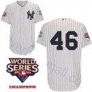 Andy Pettitte #46 White New York Yankees Kid's Jersey