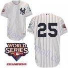 Mark Teixeira #25 White New York Yankees Kid's Jersey