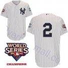 Derek Jeter #2 White New York Yankees Kid's Jersey