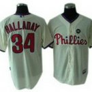 Roy Halladay #34 Cream Philadelphia Phillies Kid's Jersey