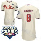 Ryan Howard #6 Cream Philadelphia Phillies Kid's Jersey