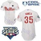 Cole Hammels #35 White Philadelphia Phillies Kid's Jersey