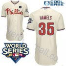 Cole Hammels #35 Cream Philadelphia Phillies Kid's Jersey