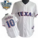 Michael Young #10 White Texas Rangers Kid's Jersey