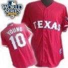 Michael Young #10 Red Texas Rangers Kid's Jersey