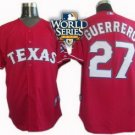Vladimir Gurrero #27 Red Texas Rangers Kid's Jersey