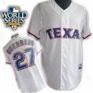 Vladimir Gurrero #27 White Texas Rangers Kid's Jersey