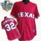 Josh Hamilton #32 Red Texas Rangers Kid's Jersey