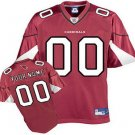Custom Arizona Cardinals Red Jersey