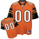 Custom Cincinnati Bengals Orange Jersey