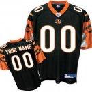 Custom Cincinnati Bengals Black Jersey
