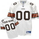 Custom Cleveland Browns White Jersey