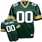 Custom Green Bay Packers Green Jersey