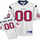 Custom Houston Texans White Jersey