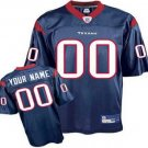 Custom Houston Texans Blue Jersey