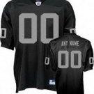 Custom Oakland Raiders Black Jersey