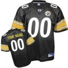 Custom Pittsburgh Steelers Black Jersey