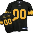 Custom Pittsburgh Steelers Retro Black Jersey