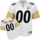Custom Pittsburgh Steelers White Jersey
