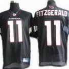 Larry Fitzgerald #11 Black Arizona Cardinals Men's Jersey