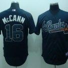 Brian McCann #16 Blue Atlanta Braves Men's Jersey