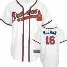 Brian McCann #16 White Atlanta Braves Men's Jersey